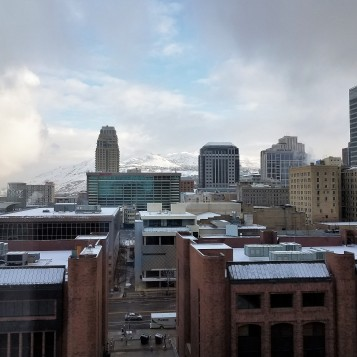 Vista desde el Hotel en Salt Lake City
